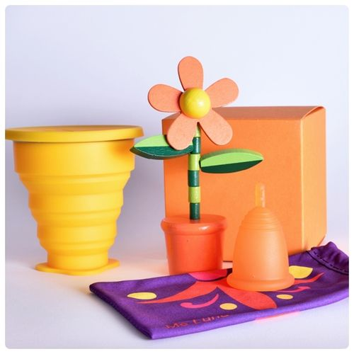 Me Luna® Flower-Power, Orange
