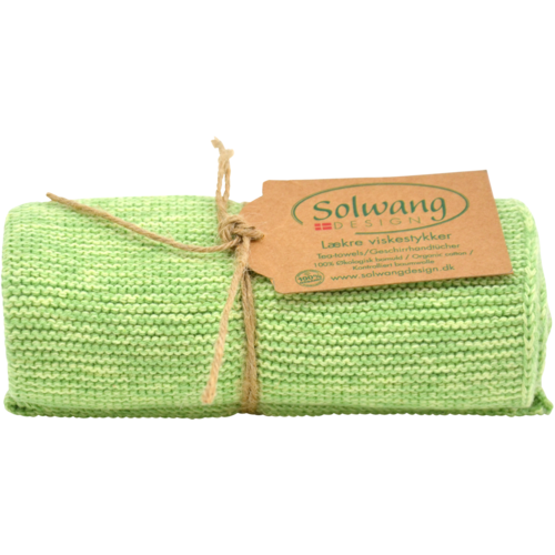 Solwang Towel GOTS green