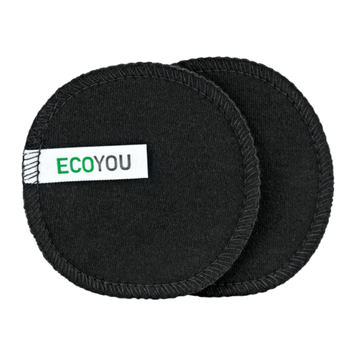 EcoYou washable make-up removal pads Black Edition