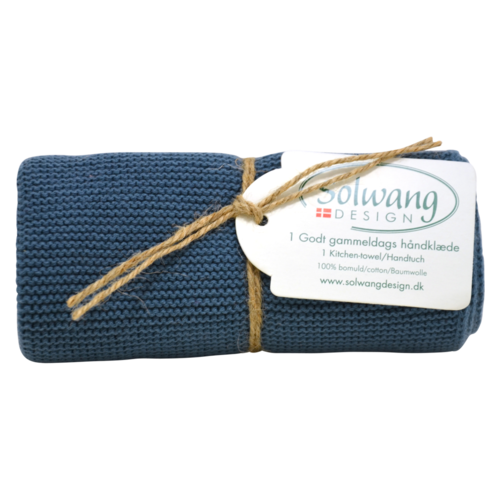 Solwang Towel antique blue