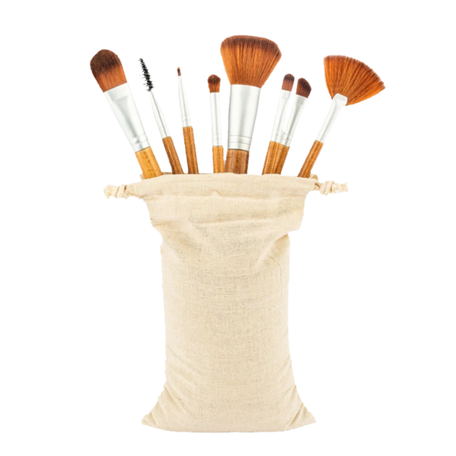 bambuswald® Make-up brushes set of 8